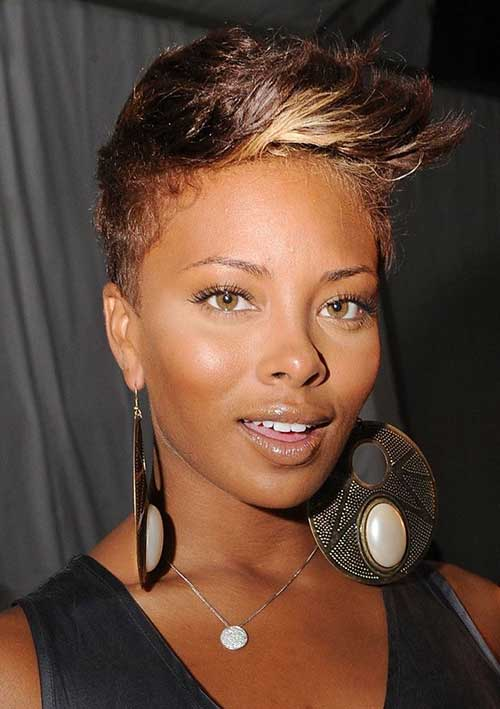 Cute Short Hairstyles for Black Women-6