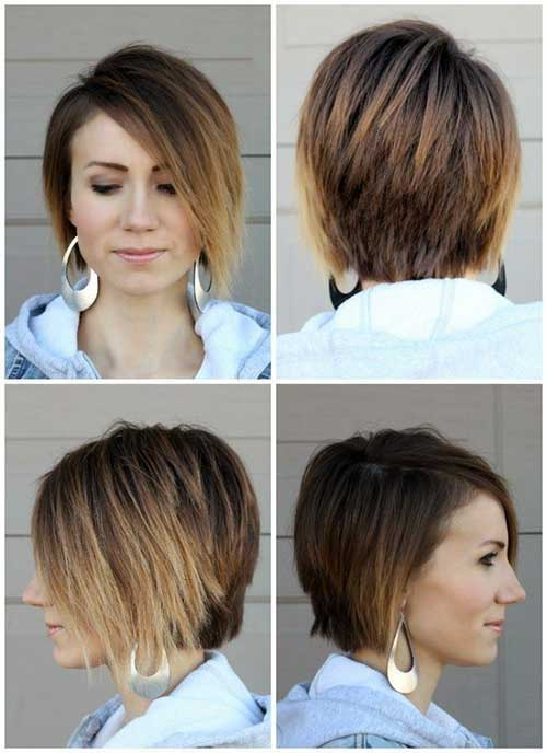 Short Haircut for Straight Hair-8