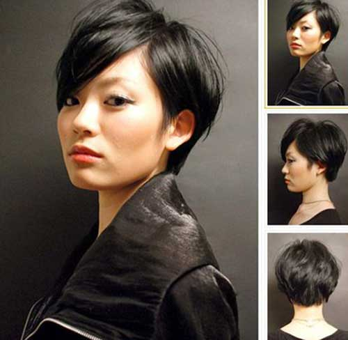 Asian Hairstyles for Short Straight Hair Ideas