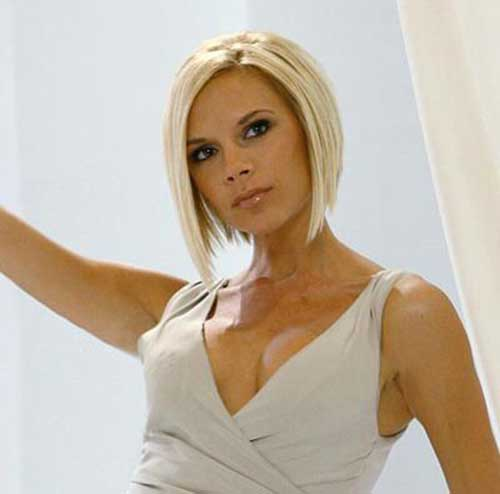 15 Best Victoria Beckham Blonde Bob Haircuts - crazyforus Victoria Beckham