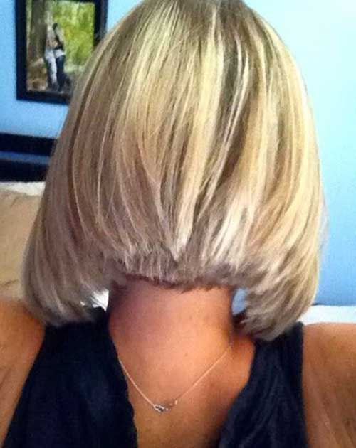 Blonde Bob Hairstyles Back View for Black Women