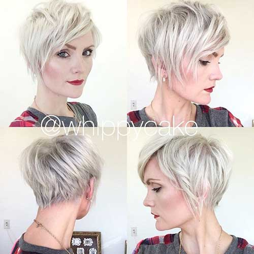 Blonde Short Haircuts with Layers
