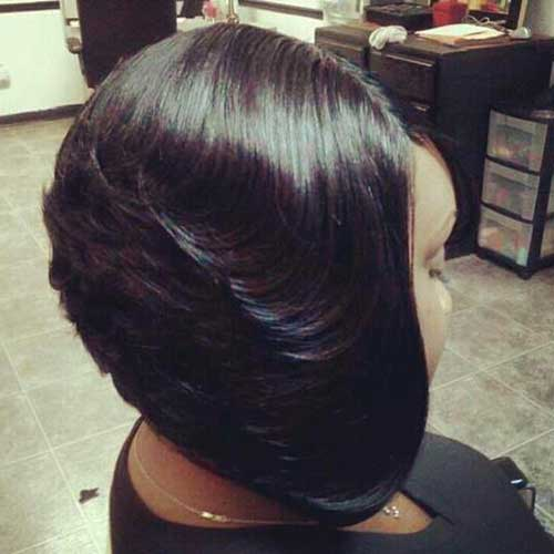 Feathered Bob Hairstyles Black Women