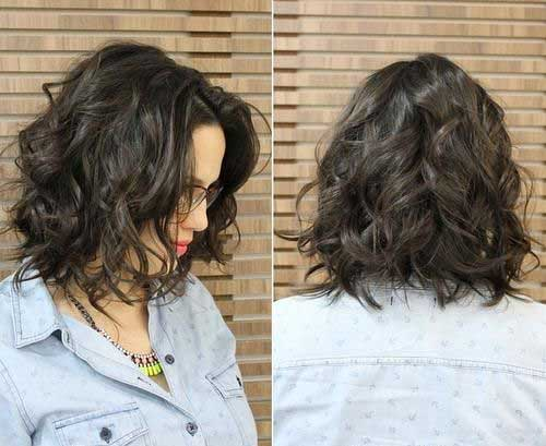 Bob Hairstyles for Short Curly Thick Hair Ideas