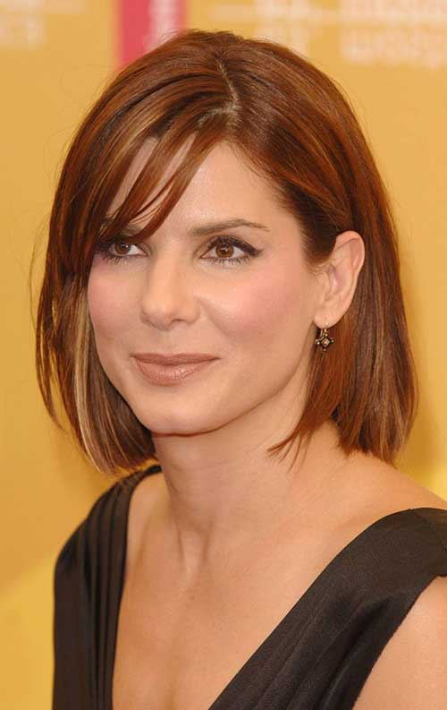 Casual Bob Hairstyles for Fine Straight Hair