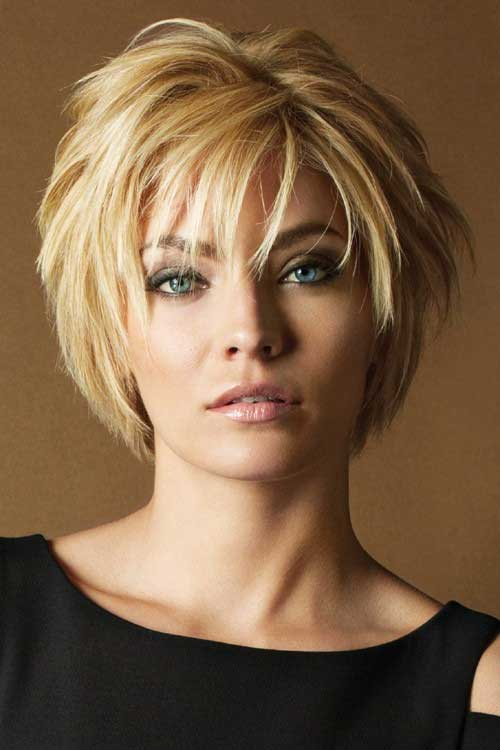 Casual Layered Hairstyles for Short Hair Idea