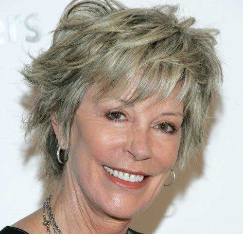 Classy Pixie Haircuts for Older Ladies