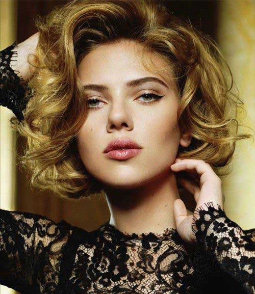 Best Classy Short Hairstyles for Short Curly Thick Hair