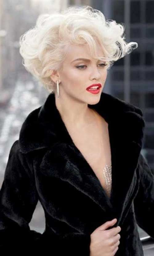 Curly Hairstyles for Short Haircuts