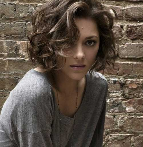 Curly Thick Short Bob Haircuts