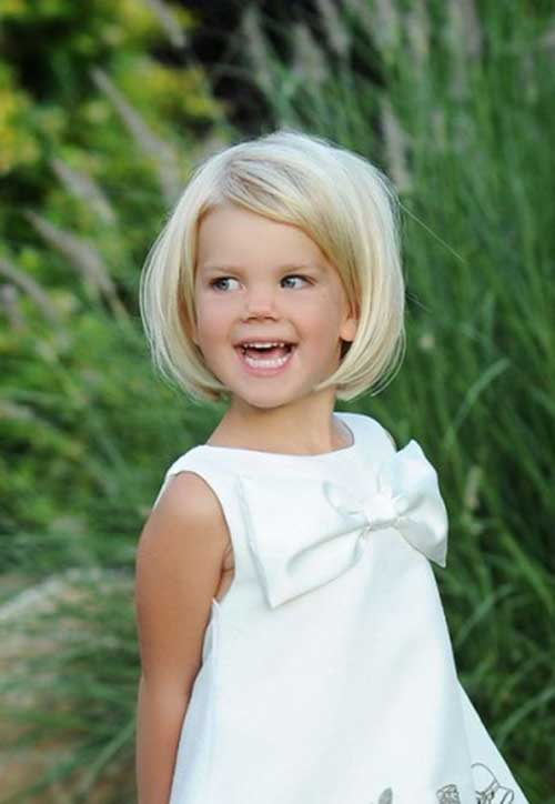 Cute Bob Haircuts for Little Girls