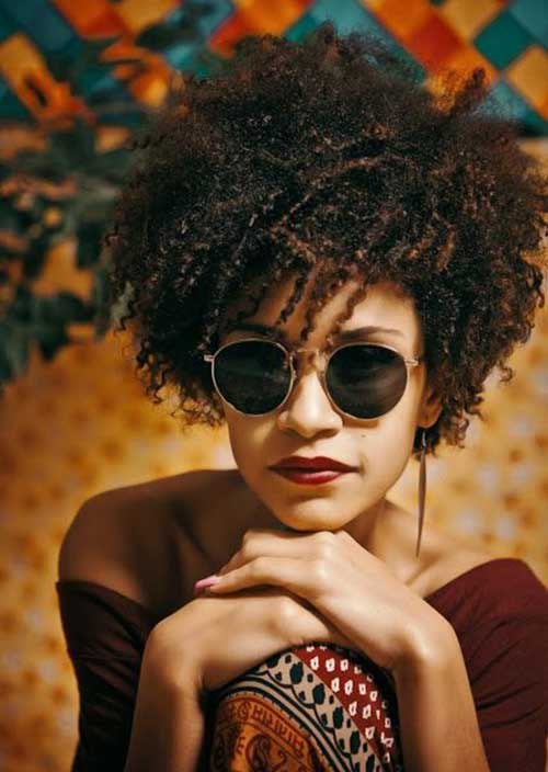 Short Curly Afro Hairstyles The Best Short Hairstyles