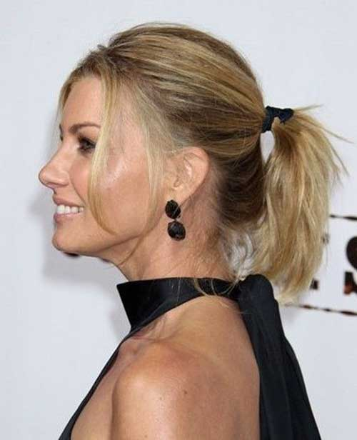 Cute Ponytail Styles For Short Haircuts