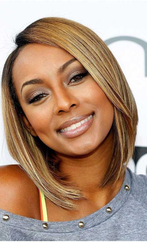 Cute Short Blonde Bob Hairstyles Black Women