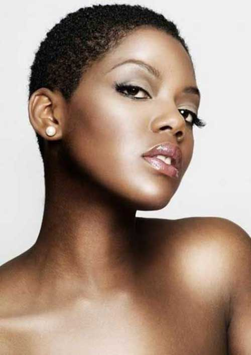Cute Very Short Hairstyles Black Women