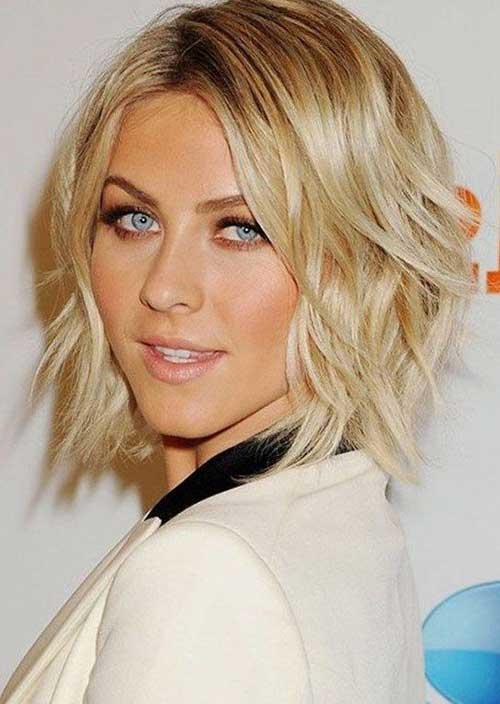 Cute Short Hairstyles for Fine Wavy Hair