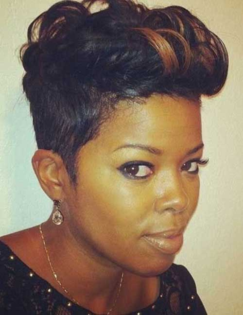 Cute Short Pixie Hairstyles Black Women