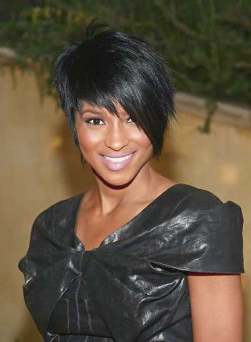 Cute Short Straight Hairstyles Black Women