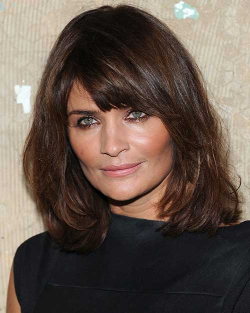 Cute Short to Medium Haircuts for Over 50
