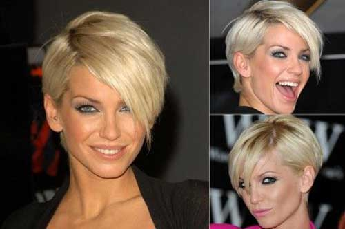 Edgy Blonde Pixie Hairstyles