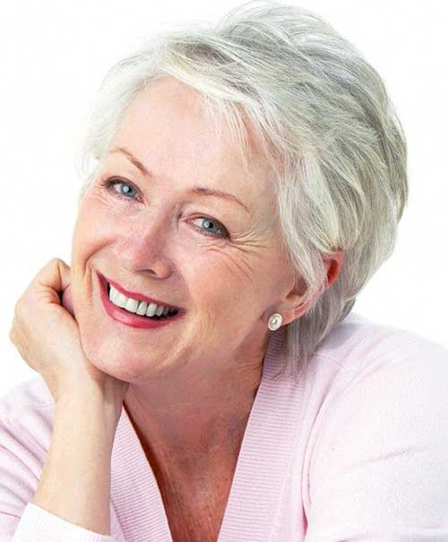 Fine Pixie Haircuts for Older Ladies