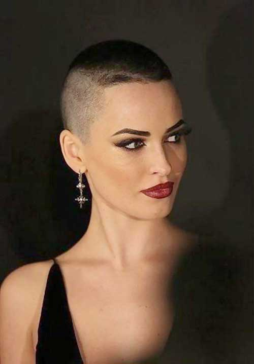 Flat Top Short Haircut for Women
