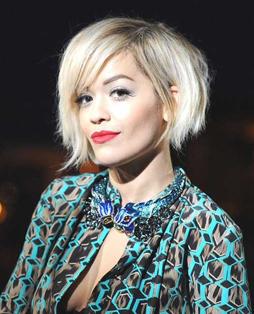 Funky Short Bob Haircuts