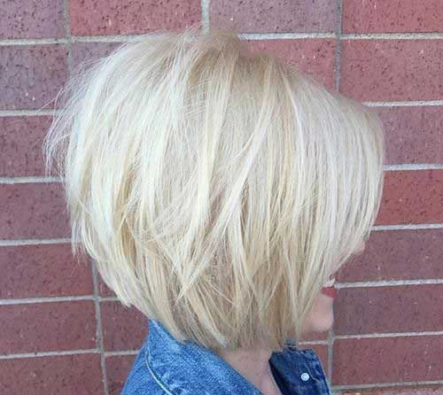 Graduated Layered Hairstyles for Short Hair Ideas