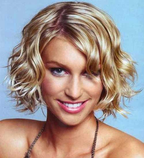 Best Haircuts for Curly Bob Hair Oval Face