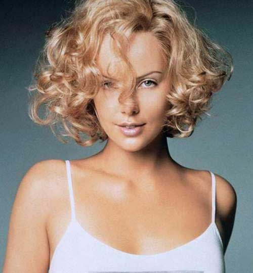 Haircuts for Curly Bob Hairstyles Oval Face