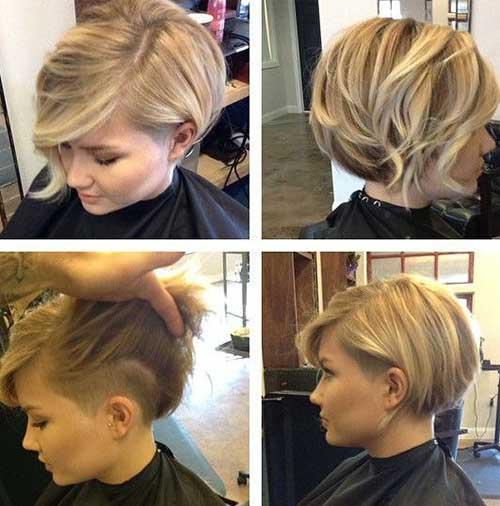 Hairstyle for Short Asymmetrical Hair
