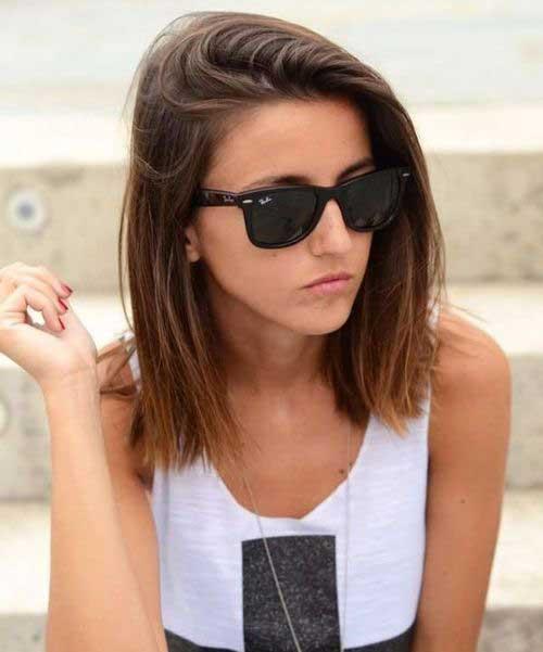 Hairstyles Short Straight Hair