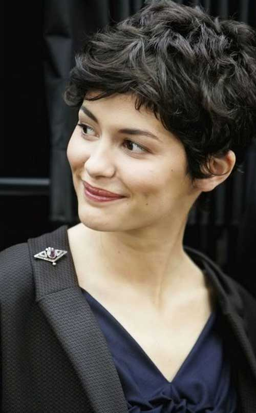 Pixie Hairstyles for Short Curly Thick Hair