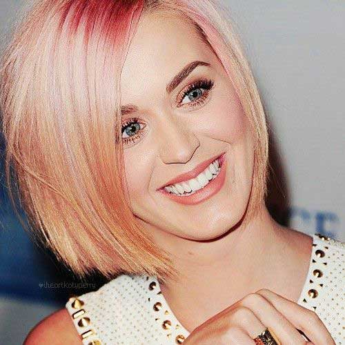 Hairstyles for Short Straight Fine Pink Hair