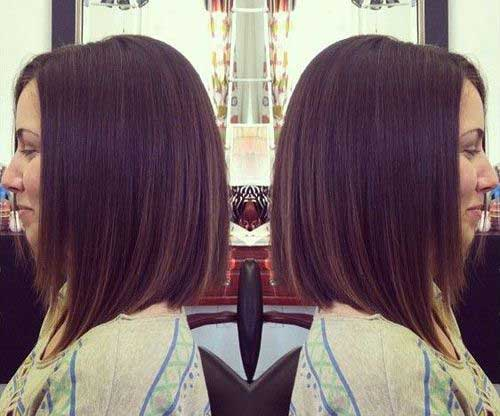 Angled Hairstyles for Straight Short Hair