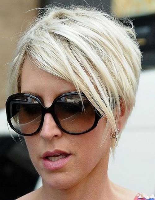 Inverted Hairstyles for Short Haircuts