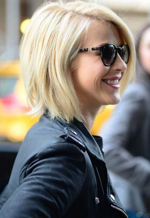 Julianne Hough Short Bob Haircuts