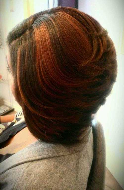 Layered Cut Bob Styles for Black Women