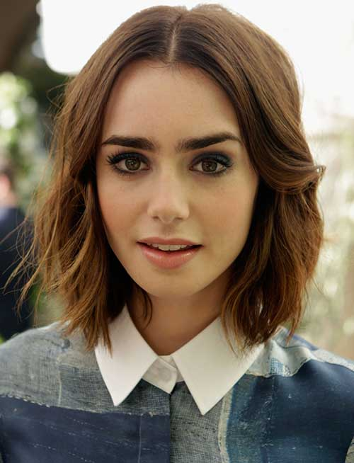 Layered Hairstyles for Short Cut Hair Ideas