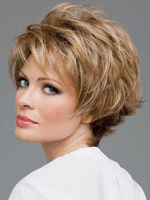 Layered Short Haircuts for Women