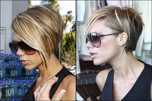 20 layered hairstyles for short hair the best short hairstyles celeb layered short pixie bob haircut urmus Gallery