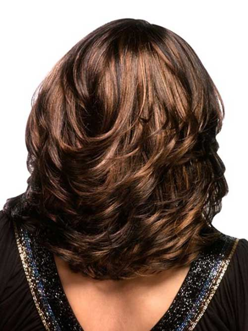 Hairstyles For Medium Curly Hair With Layers Unique Gorgeous Looking Long Older Women