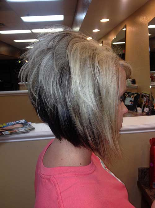 Layers for Short Stacked Hair