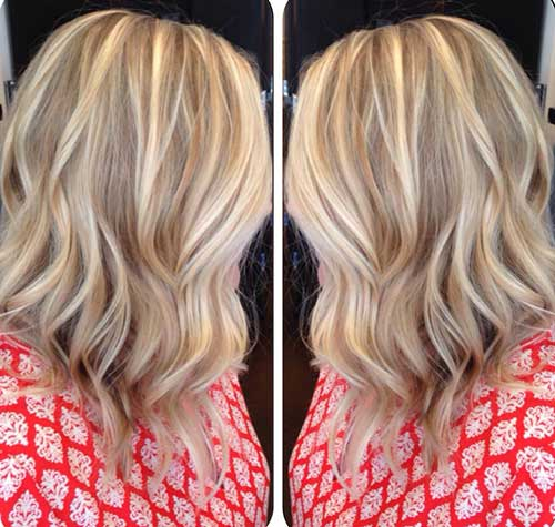 Long Inverted Blonde Bob Hairstyles