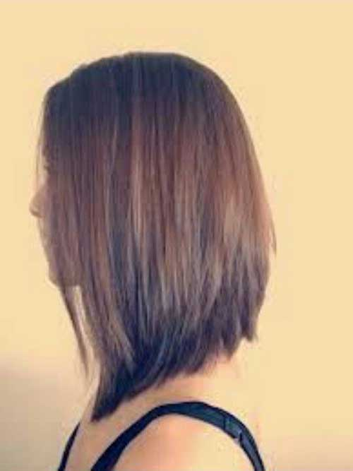 Long Inverted Straight Bob Hairstyles