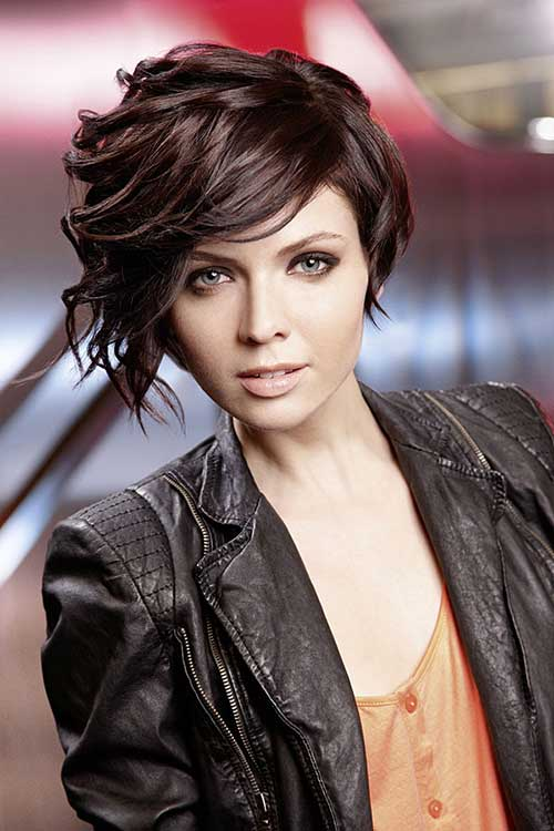 Long Pixie Hairstyles for Short Curly Thick Hair