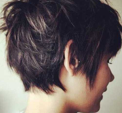 Messy Pixie Cut Hairstyle