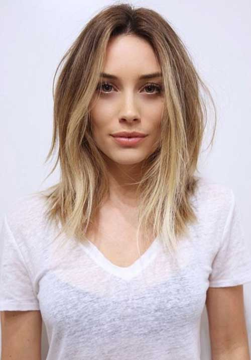 Mid Length Straight Bob Best Short Hairstyles