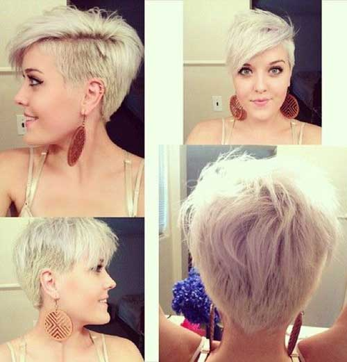 Mohawk Shaved Pixie Hairstyles