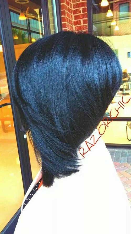 New Razor Cut Bob Hairstyles Black Women